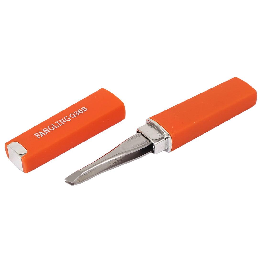 how to clean metal tweezers