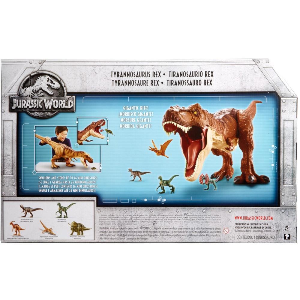 Jurassic World Morsure /'N Fight T-REX FIGURINE