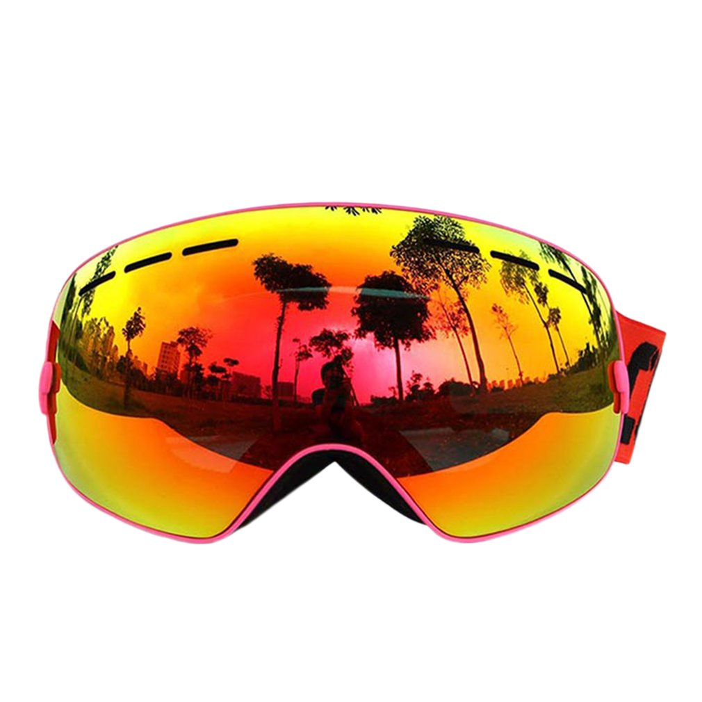 COPOZZ Professional Ski Goggles Double Layers Anti-Fog Adult Men Women Eyewear Snowboard Skiing Glasses Goggles by