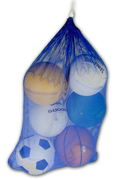 Champion Sports Mesh Equipment Bag (24 x 36) Royal Blue by Champion Sports