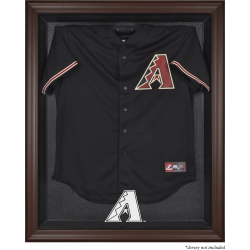 Arizona Diamondbacks Fanatics Authentic Brown Framed Logo Jersey Display Case - No Size