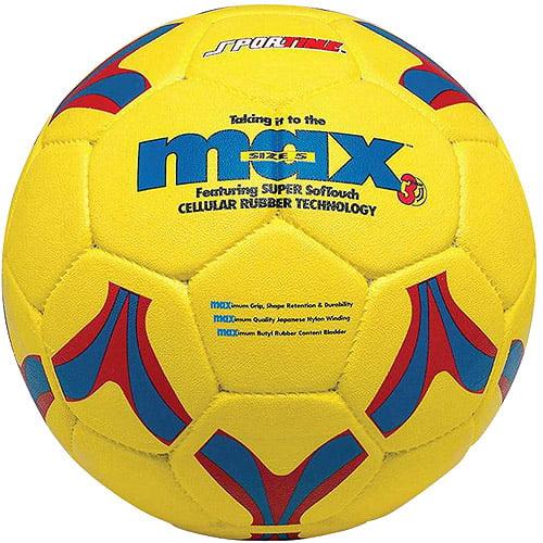SportimeMax ProRubber Soccer Ball, Size 5