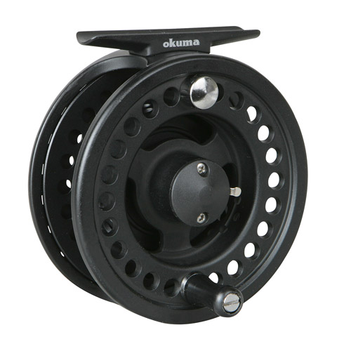 "Okuma Integrity ""B"" Fly Reel, Matte Black"