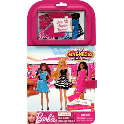 Barbie Dress Up Magnetic Scene Activity