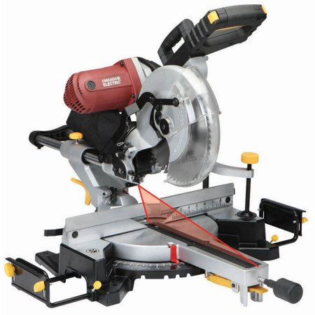 12 in. Double-Bevel Sliding Compound Miter Saw With Laser Guide