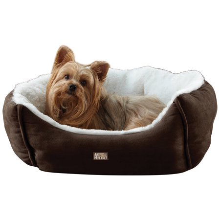 Animal Planet Micro Suede Pet Bed Blue
