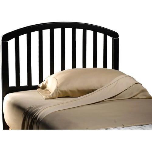 Carolina Headboard, Twin, Black by Hillsdale Furniture, LLC