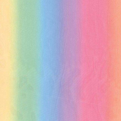 Springs Creative Rainbow Sheer Fabric