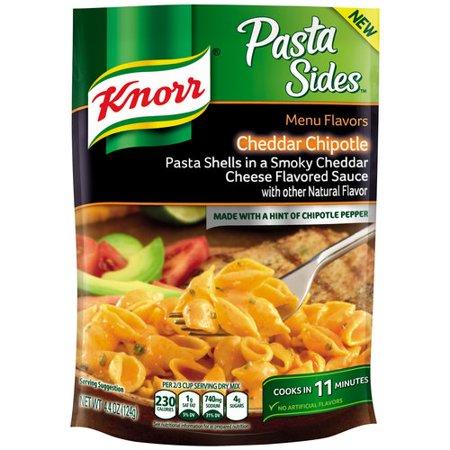 Knorr Menu Flavors Cheddar Chipotle Pasta Sides  4 4 Oz