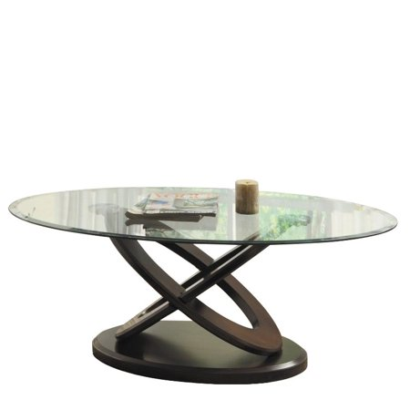 Trent Home Firth II Oval Cocktail Table in - Victorian Style Oval Cherry