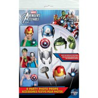 Avengers Photo Booth Props, 8pc