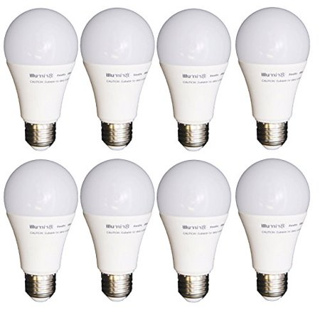 8 Pack LED Light Bulbs Dimmable 40W Equiv Soft White A19 Energy Efficient