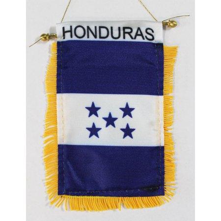 Honduras Window Hanging Flag