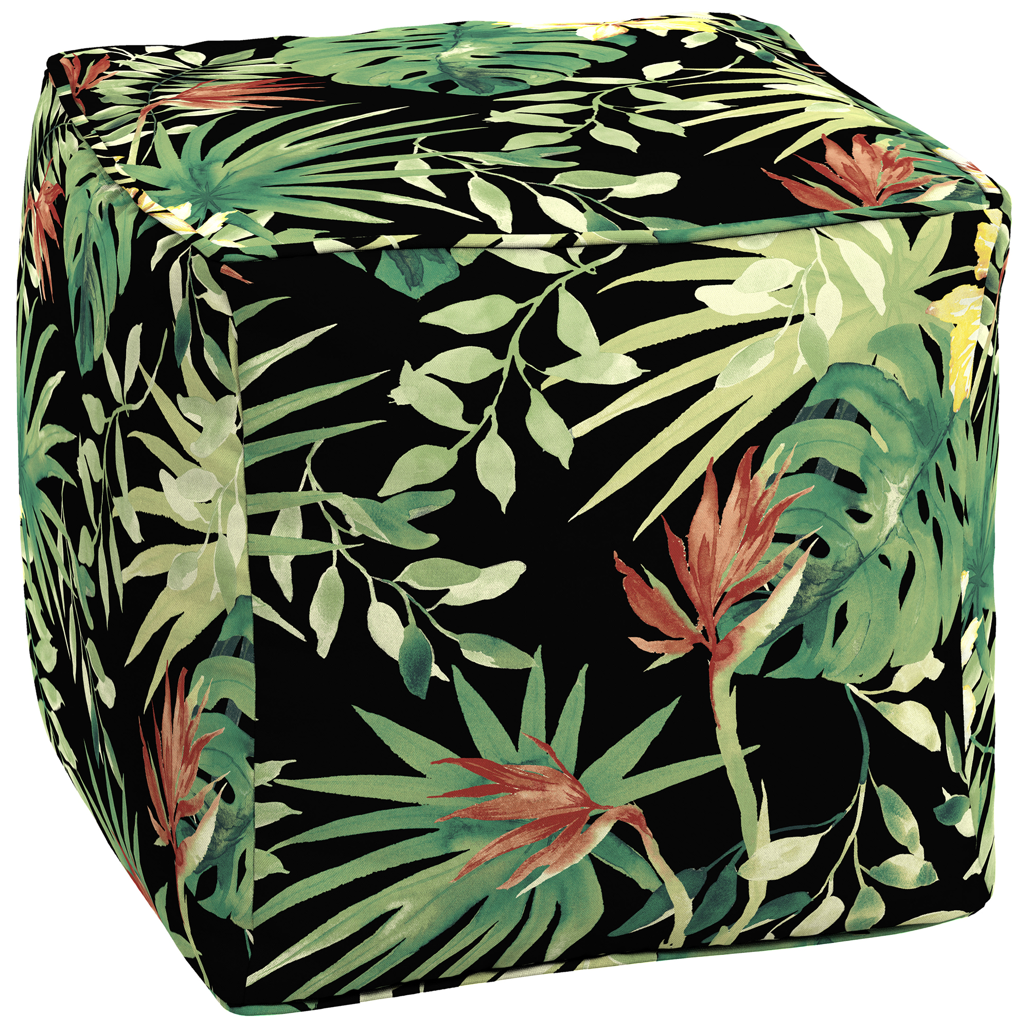 Better Homes and Gardens Aruba Palm Outdoor Pouf