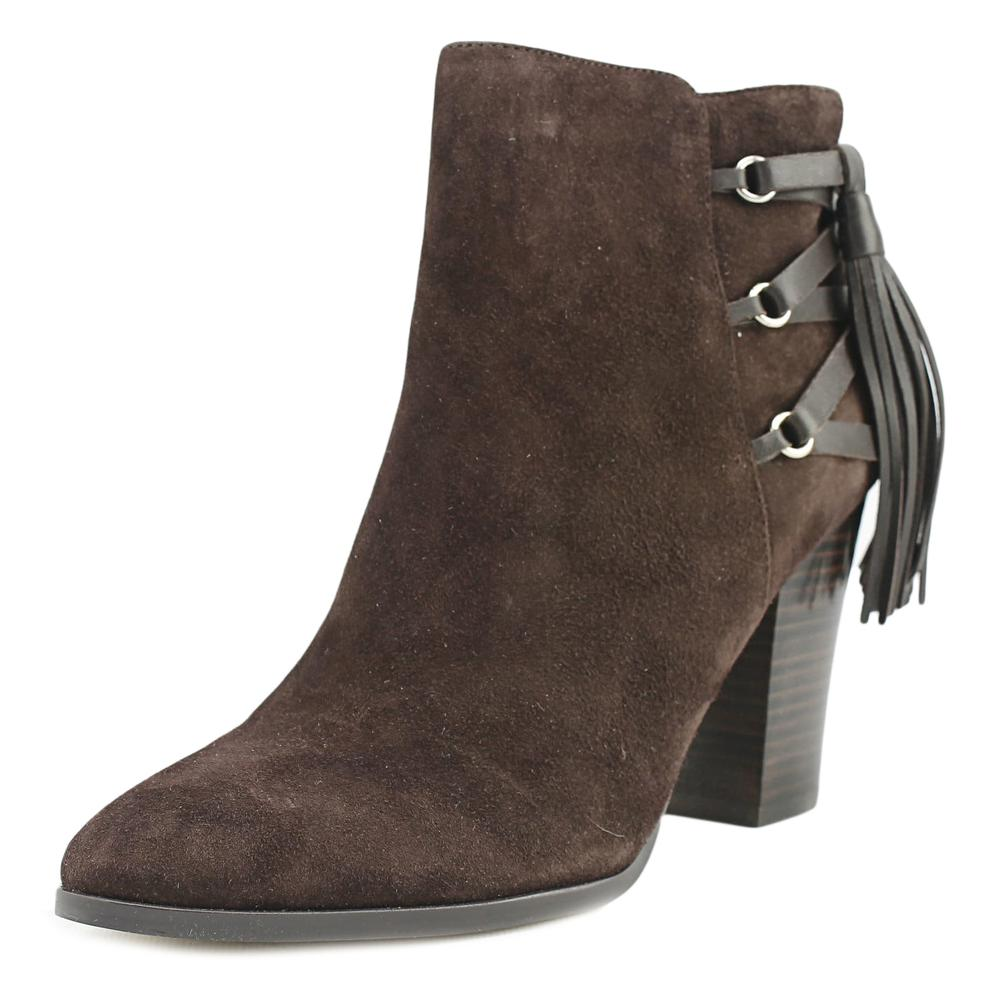 Marc Fisher Kava Women  Pointed Toe Suede Brown Ankle Boot