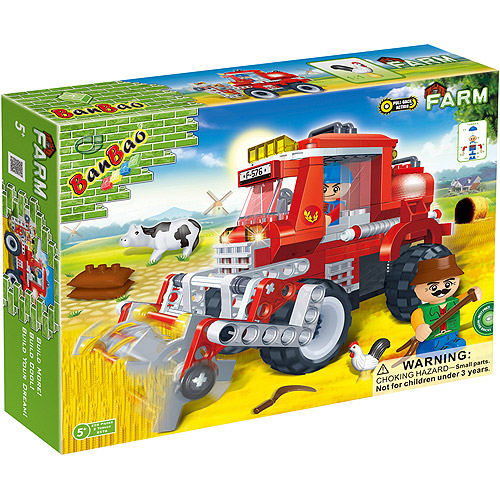 BanBao Wheat Harvester Play Set