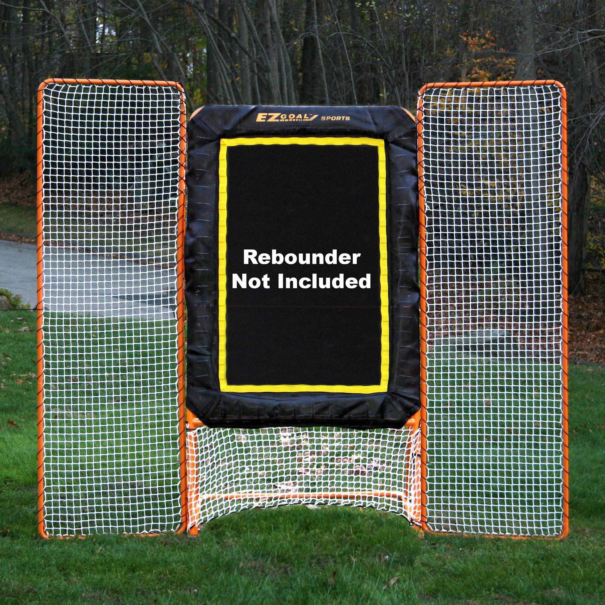 EZgoal Monster Lacrosse 11' x 8' Backstop Rebounder Fits All 6' x 6' Goals and EZgoal Pro 4' x 8' Spring Rebounders