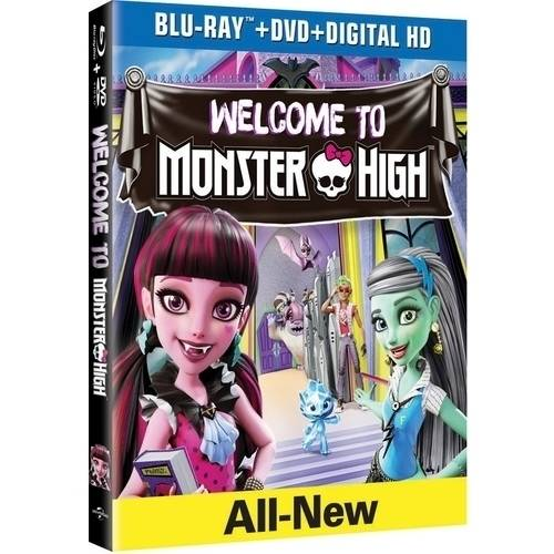 Monster High: Welcome To Monster High (Blu-ray   DVD   Digital HD)