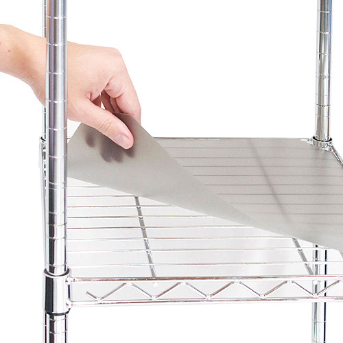 "Seville Classics 2-Pack Shelf Liners, 18"" x 36"""