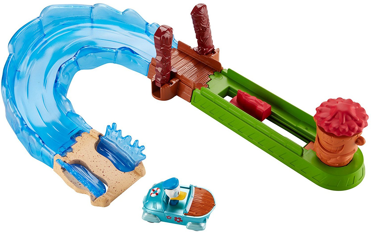 Fisher Price Disney Mickey Mouse Clubhouse Wave Rider Race Set Toy, Track sets connect... by