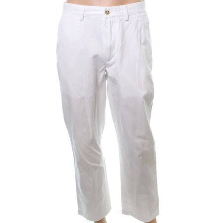 Polo Ralph Lauren NEW White Mens Size 34X34 Bedford Chinos