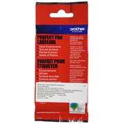 Brother Tape, Retail Packaging, 3/8 Inch, Black on Yellow (TZeS621) - Retail Packaging