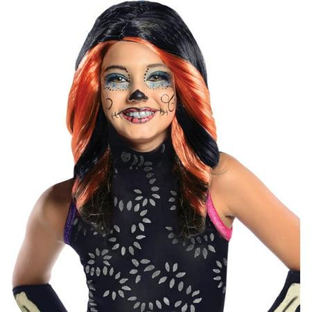 Monster High Skelita Calaveras Dress Up (Morris costumes RU52812 Mh Skelita Calaveras Child)