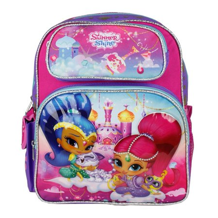 Small Backpack Shimmer And Shine Purple Girls 12 Quot New