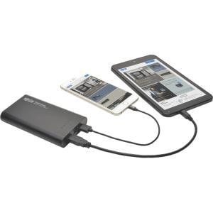 Tripp Lite Portable 2-Port USB Battery Charger Mobile Pow...