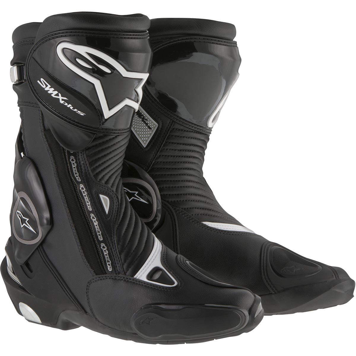 Alpinestars SMX Plus Racing/Performance Riding Boots Black
