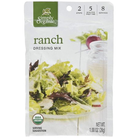 Ranch Dressing Mix (Pack of 3), Includes three, 1 ounce packets. By Simply