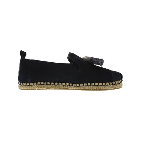 2defce9dfb1 Toms Women s Deconstructed Alpargata Rope Suede Navy Tassel Ankle-High  Slip-On Shoes ...