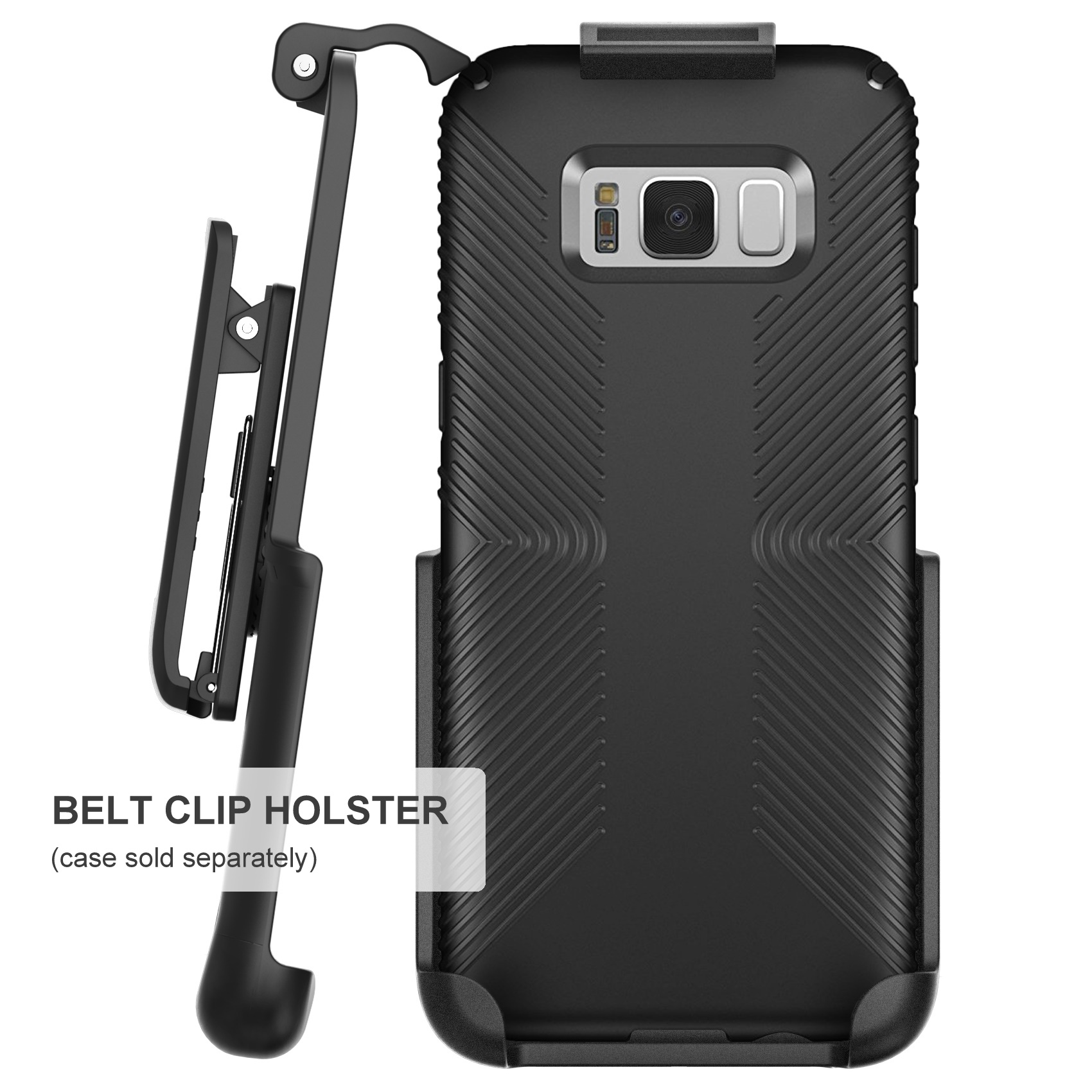 sale retailer 83e47 511d2 Belt Clip Holster for Speck Presidio Grip Case - Samsung Galaxy S8 Plus  (S8+) By Encased (case not included)