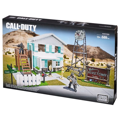 Call of Duty Nuketown, Buildable Nuketown with 1950s style house with white picket fence,... by