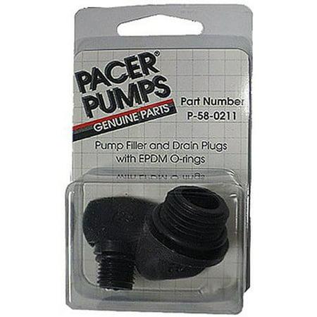 PACER PUMPS DIV. OF ASM IND P-58-0211 Drain & Fill Plug -