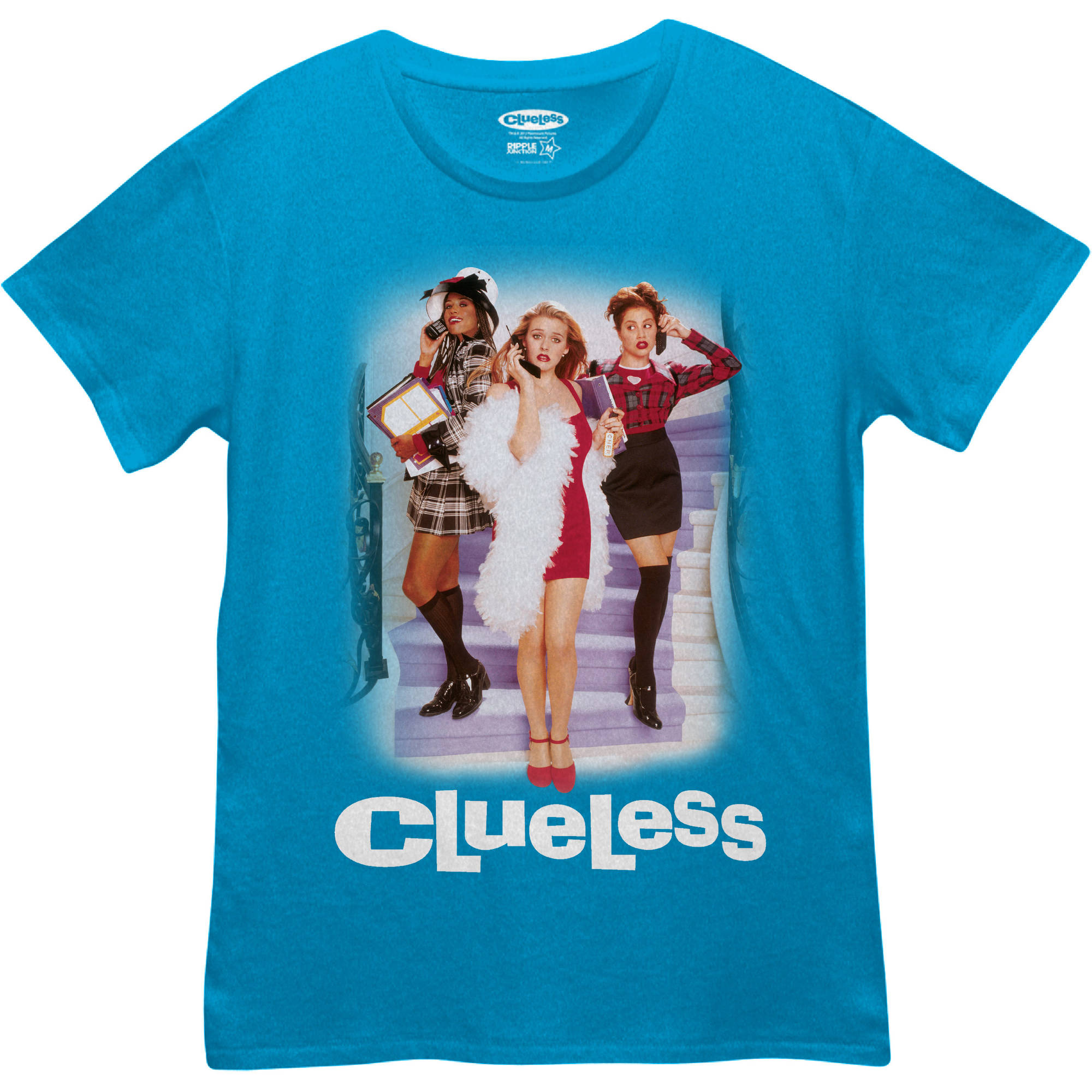 "Juniors' ""Clueless"" The Movie Boyfriend Tee"