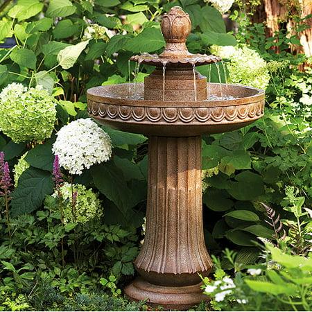 Blossom Pedestal Water Fountain