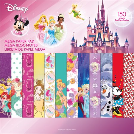 (Disney Single-Sided Mega Paper Pad 12