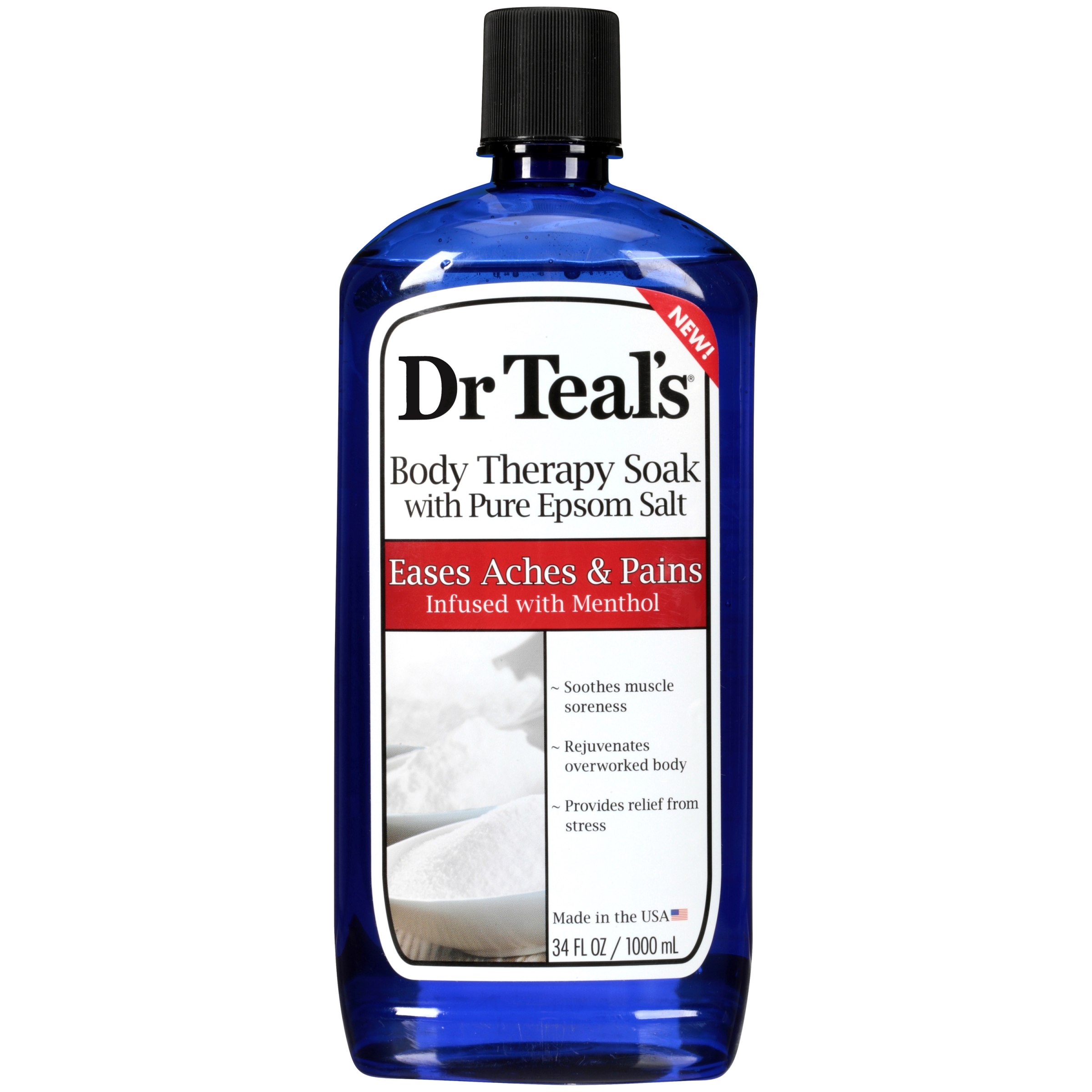 (2 pack) Dr Teal's Body Therapy Soak Foaming Bath, 34 oz
