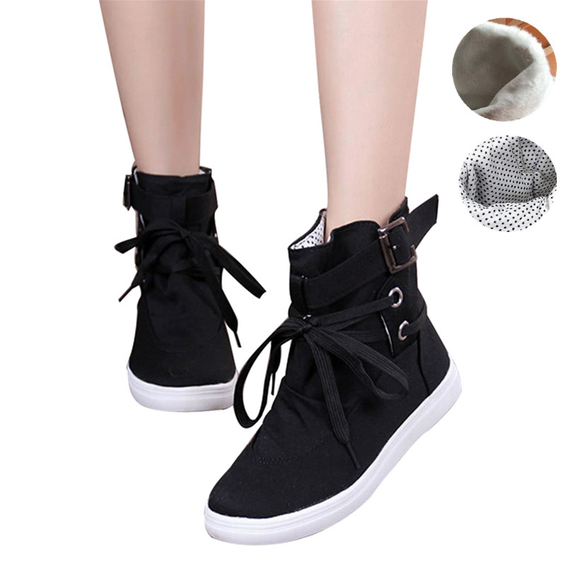 Meigar Women Sneakers Casual Hiking High Top Sports Shoes