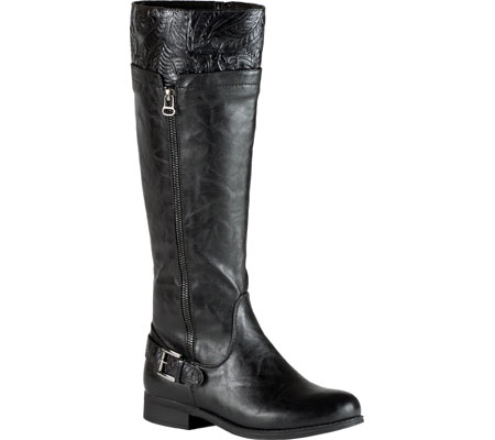 Easy Street Womens Burke Faux Leather Knee-High Riding Boots by Easy Street