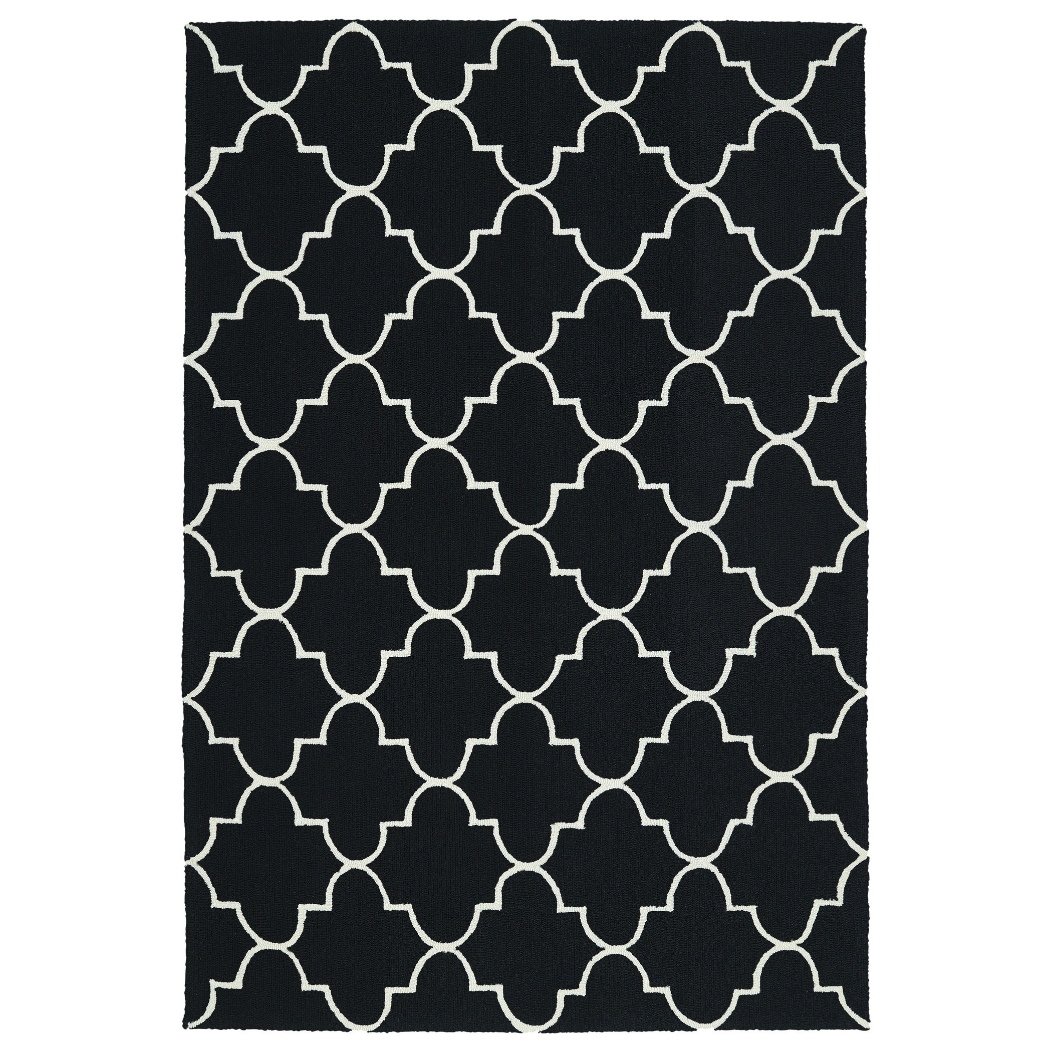 Kaleen Escape Black Indoor/Outdoor Area Rug