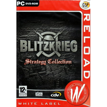Blitzkrieg Strategy Collection (2 PC Games) includes Blitzkrieg and Burning Horizon (Expansion Set Collection)