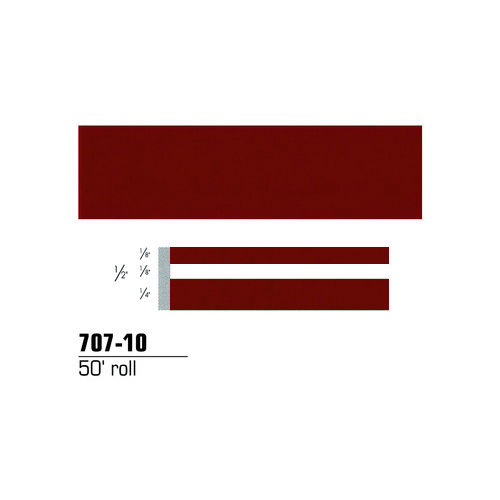 Image of 3M Scotch Scotchcal Striping Tape: 1/2 in. x 50 ft. (Burgundy)