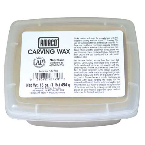 Amaco - Carving Wax
