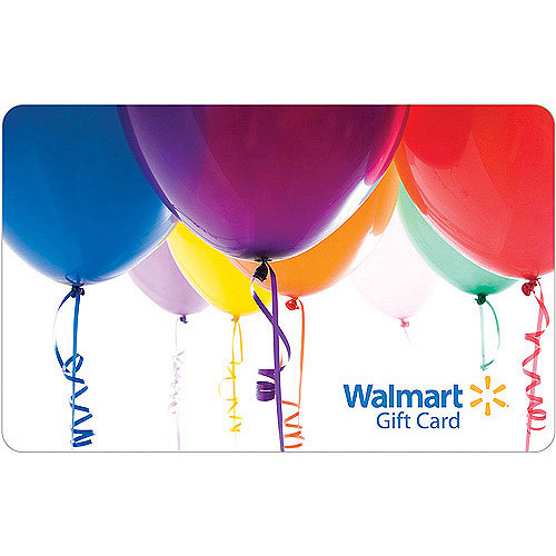 Balloons Gift Card by Generic