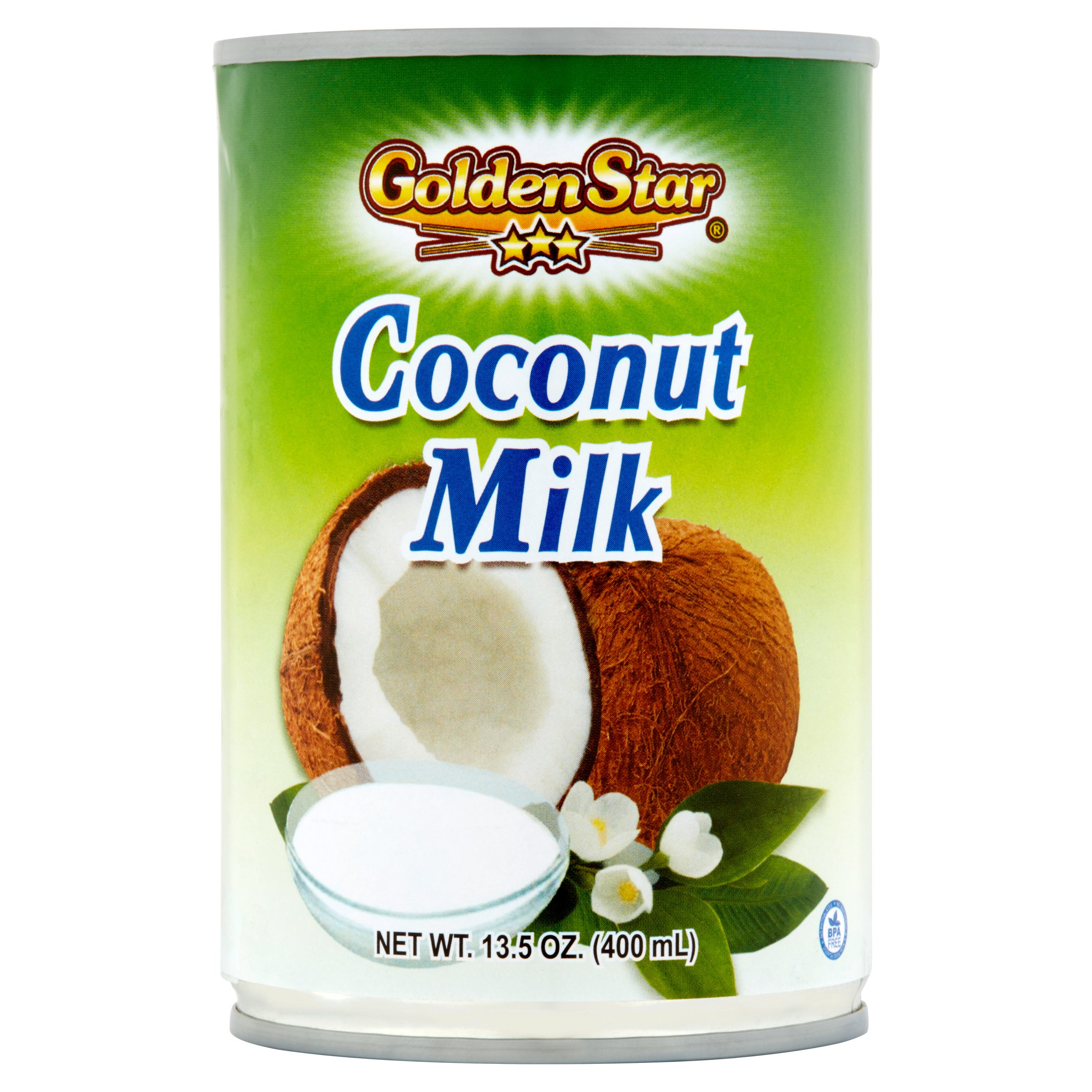 Golden Star Coconut Milk, 13.5 oz by Golden Star Trading, Inc.