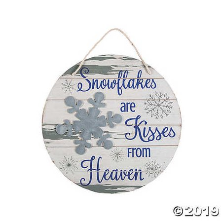 Snowflakes To Hang From Ceiling (Snowflakes Are Kisses from Heaven)