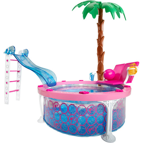 Barbie Glam Pool Play Set