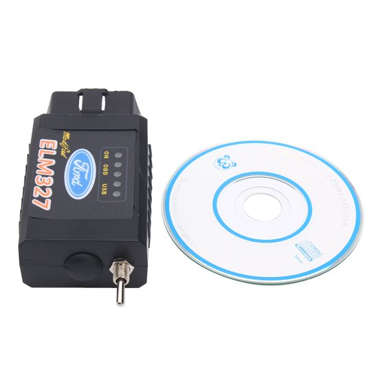 ELM327 bluetooth OBD2 CAN Scanner Wireless Switch Diagnostic Tool Forscan  Fo'rd